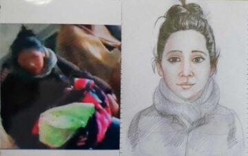 Imagen e identikit de la acusada. Foto: Edwin Apaza.