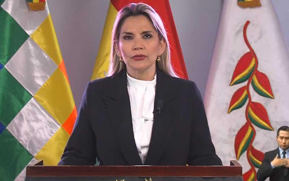 Añez anuncia cierre de fronteras, suspensión de viajes y restricción vehicular